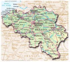 Cartina Del Belgio Da Stampare.Belgio Informazioni Sul Belgio Visitare E Guida