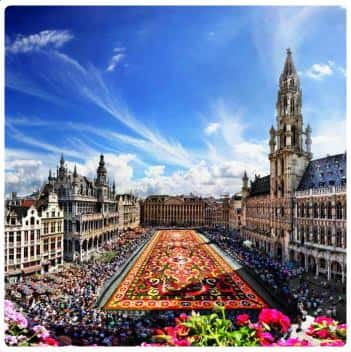 Infiorata alla Grand Place