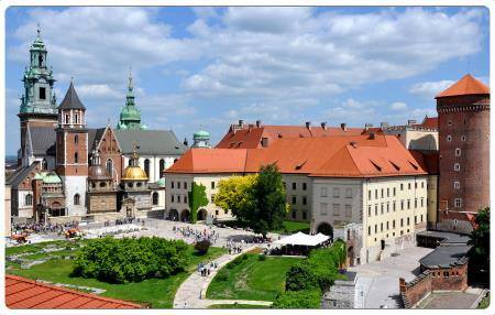 Collina di Wawel Cracovia