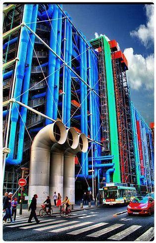 Museo Pompidou.Museo Pompidou