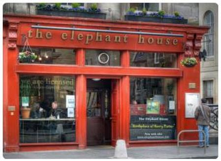The Elephant House a Edimburgo