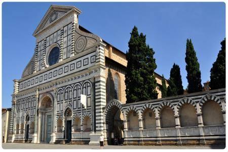 Basilica Di Santa Maria Novella A Firenze