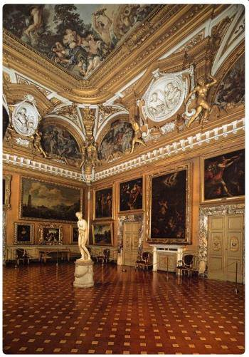 Galleria palatina a firenze for Palazzo pitti orari