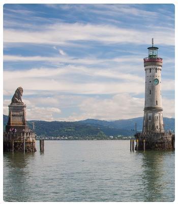 Lago Di Costanza Germania Cartina.Il Lago Di Costanza
