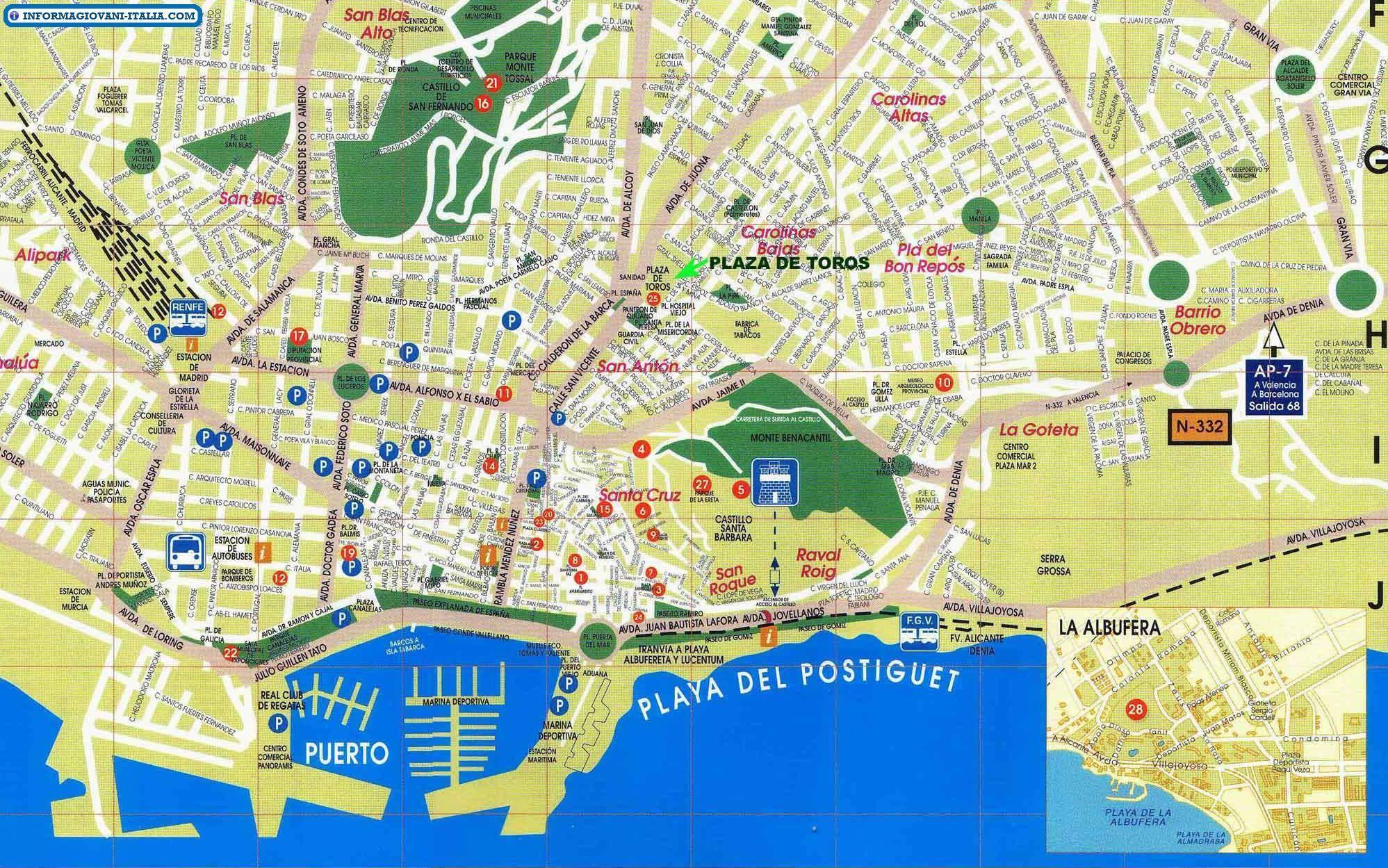 Cartina Spagna Jerez De La Frontera