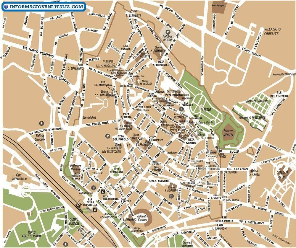 Cartina Geografica Di Arezzo.Mappa Di Arezzo Cartina Di Arezzo