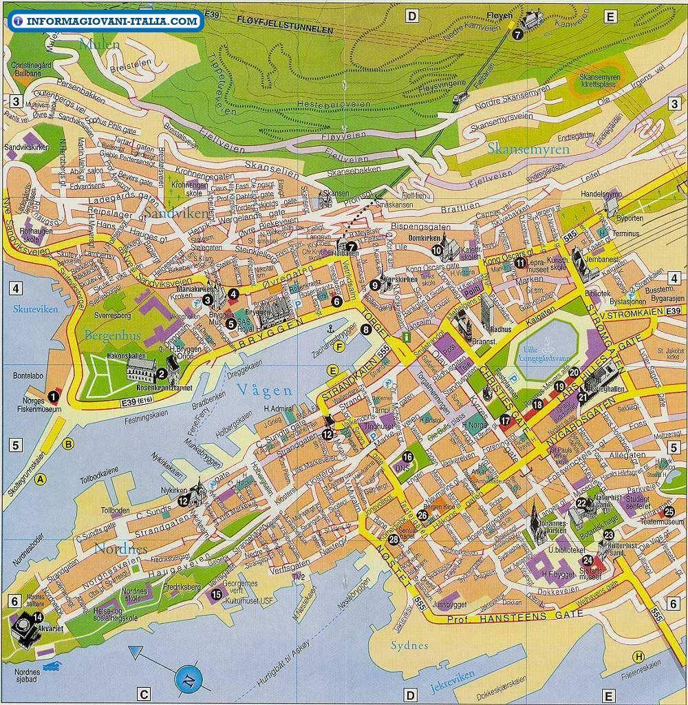 stockholm kort tourist