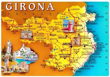 Cartina Geografica Spagna Costa Brava.Costa Brava In Spagna Cosa Vedere In Costa Brava