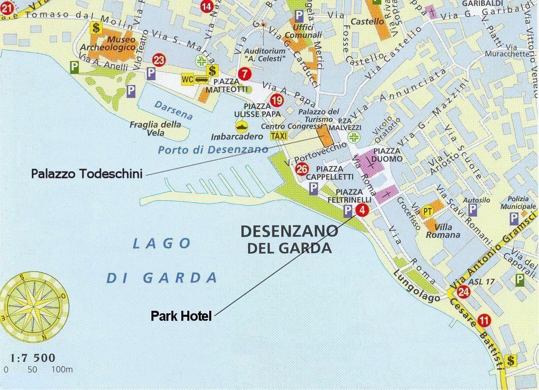 Karte Von Desenzano Stadtplan Desenzano