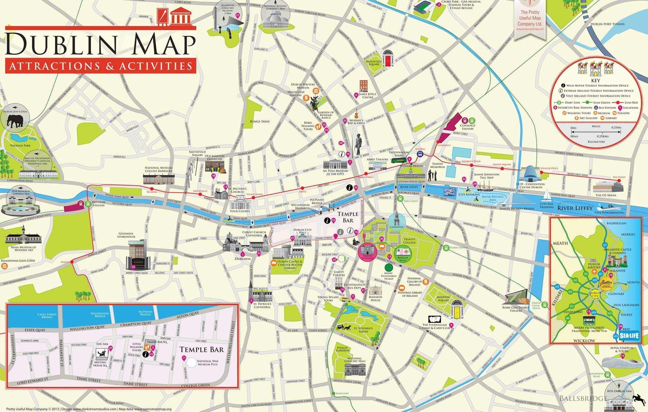 mappa dublino
