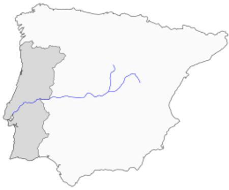 Portogallo Spagna Cartina.Fiume Tago