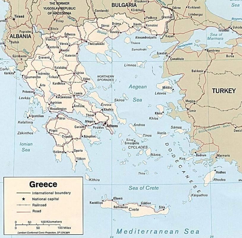 Mappa della grecia cartina della grecia carte de la grce karte von griechenland mapa grecia map of greece altavistaventures Image collections