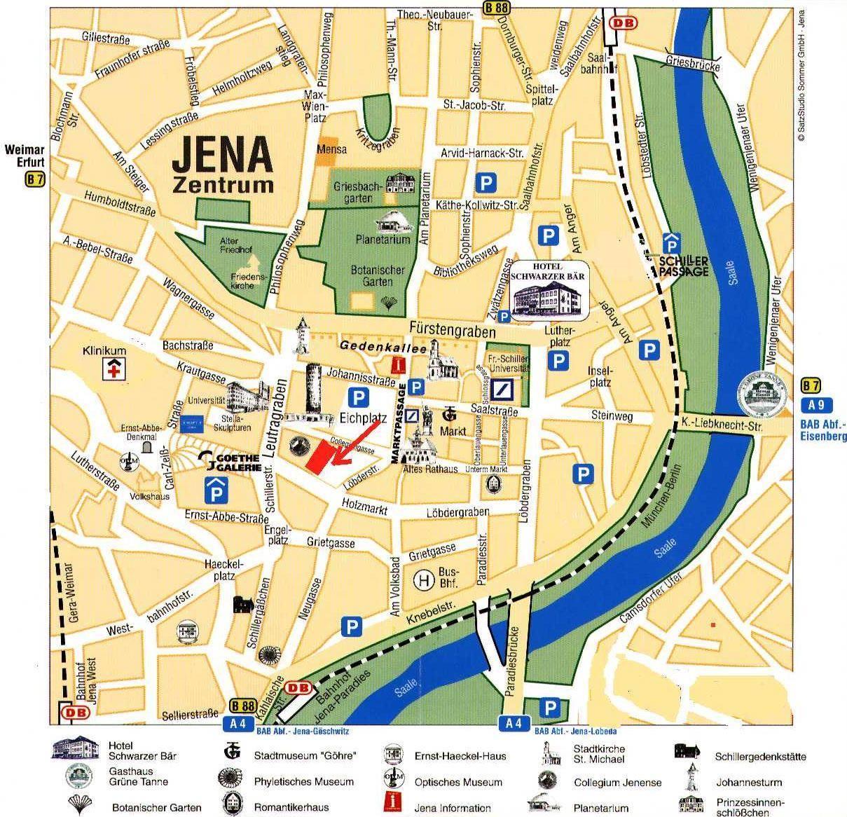 Hotels In Jena Deutschland