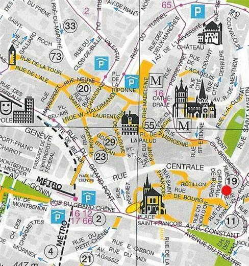 Cartina Zurigo.Mappa Di Zurigo Cartina Di Zurigo