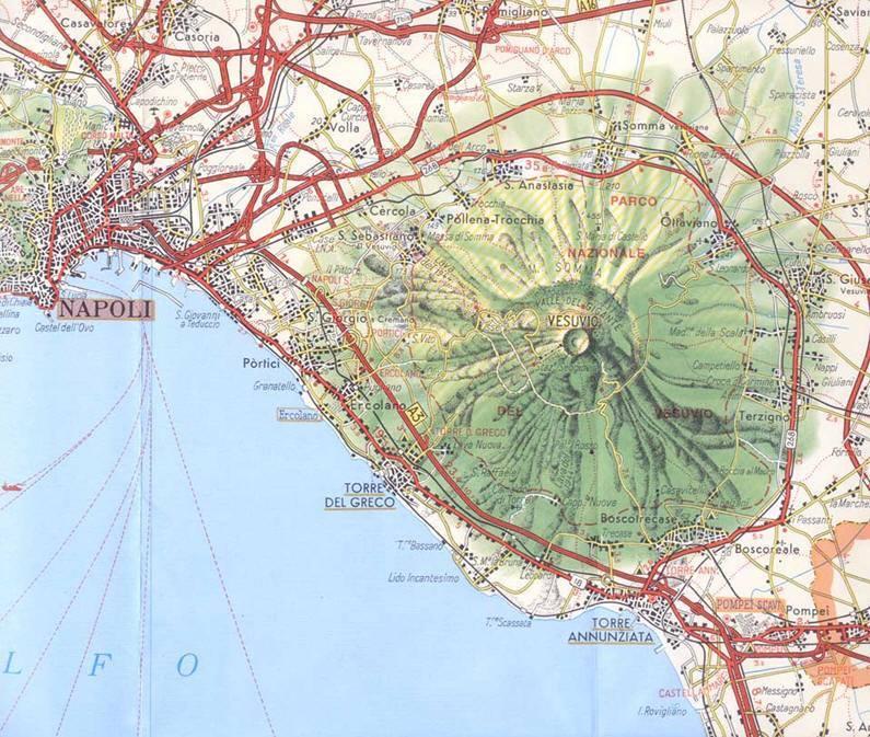Cartina Turistica Napoli Centro.Mappa Napoli Cartina Di Napoli