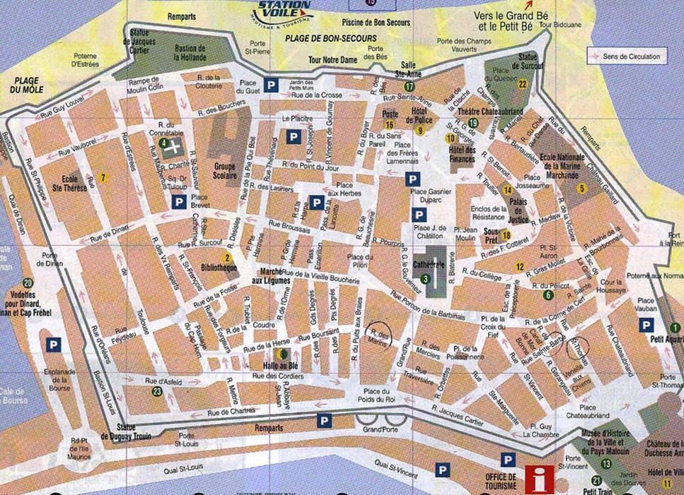 Plan Ville Rochefort En Terre