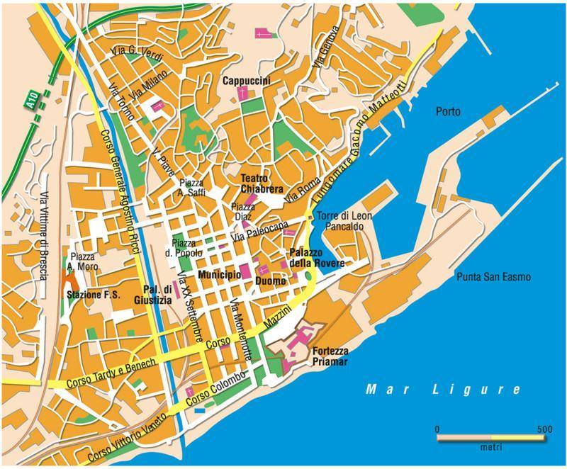 Basic Map Of Italy.Savona Italy Cruise Port Of Call