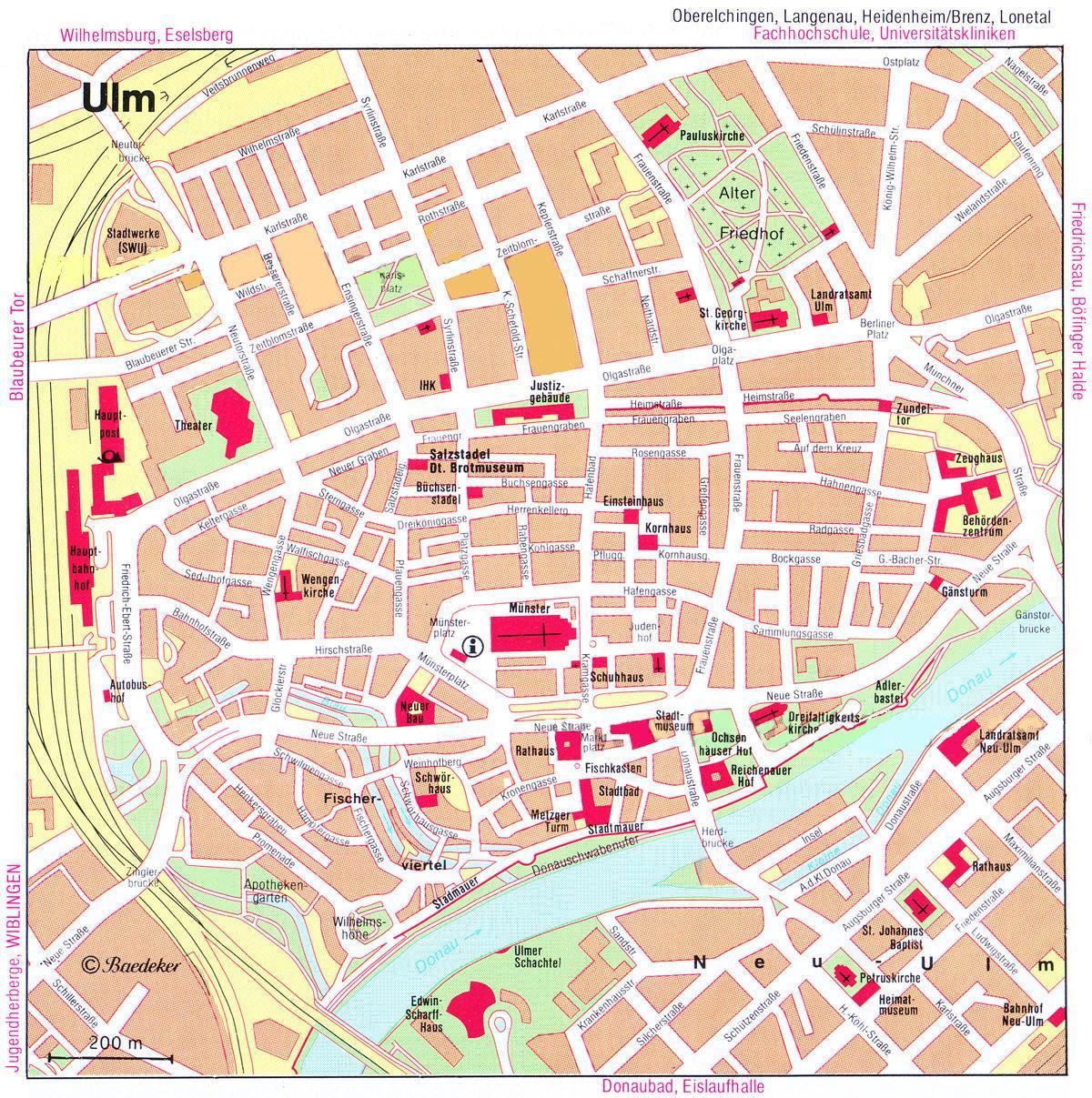 Mappa; Monumenti · Stradario · Inserzionisti