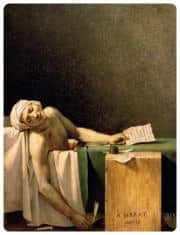 Morte di Marat - Jacques-Louis David