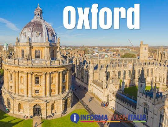La città universitaria di Oxford