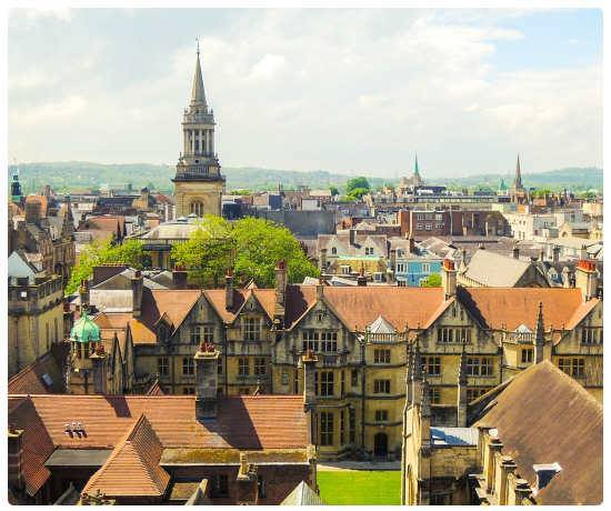 Panorama di Oxford