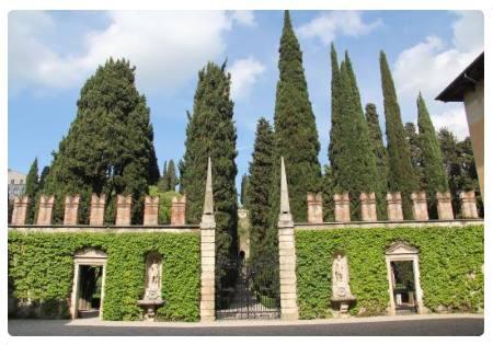 Cosa vedere a verona 40 luoghi da visitare a verona for Giardino e palazzo giusti