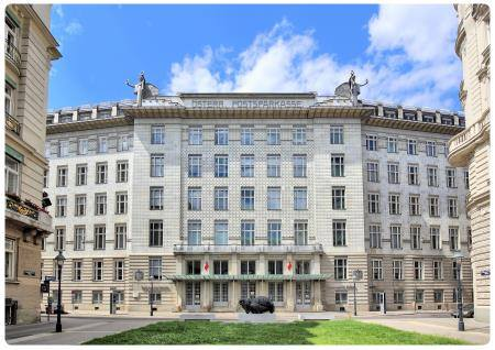 Postsparkasse di Otto Wagner
