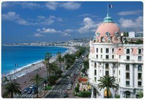 Sedie Blu Nizza : Promenade des anglais a nizza