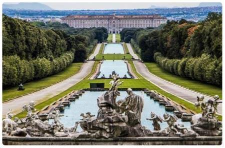 Reggia di caserta - Giardini reggia di caserta ...