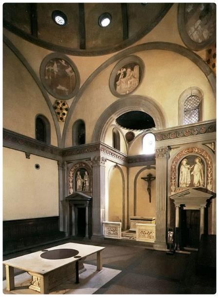 Basilica di san lorenzo e cappelle medicee for Sagrestia vecchia