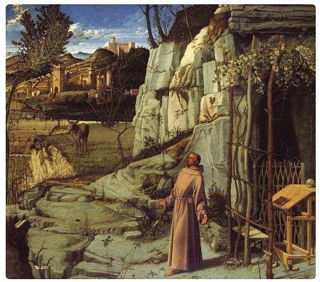 San Francesco in Estasi - Giovanni Bellini