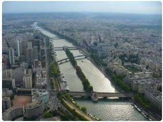 La senna - il fiume di parigi