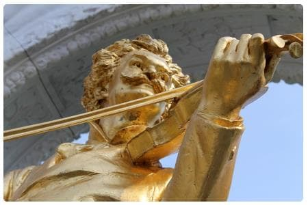 Statua di Richard Strauss