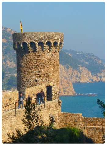 Tossa de Mar - Panorama