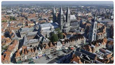 Panorama di Tournai