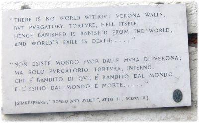 Verona E Shakespeare