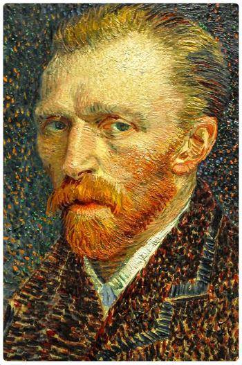 Autoritratto Vincent Van Gogh 1887